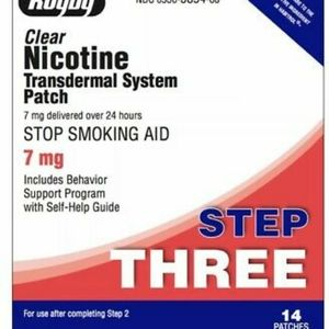 NICOTINE PATCHES, NEW IN BOX